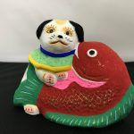 小幡人形「鯛狆」