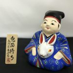 稲畑人形「兎面持ち」